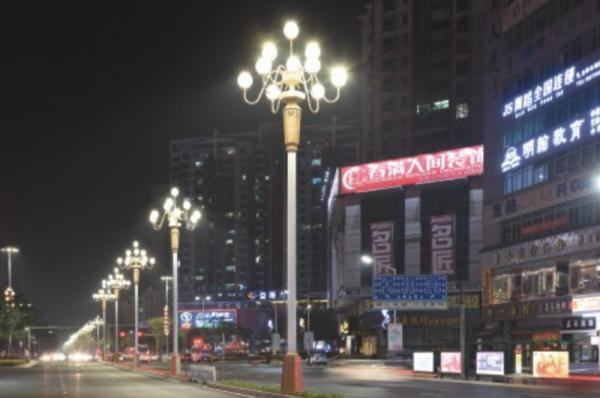 市政道路照明亮化