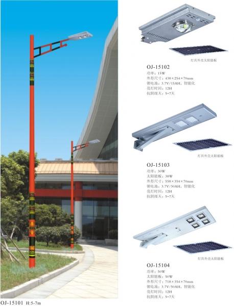 浅谈太阳能一体化路灯的使用寿命与使用场所