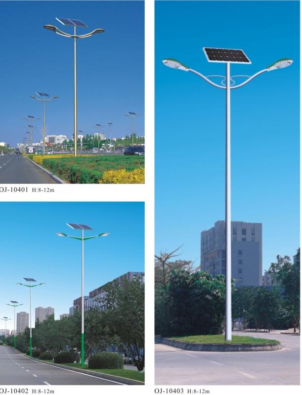 影响乡村太阳能路灯寿命的因素景观灯厂家详述给您