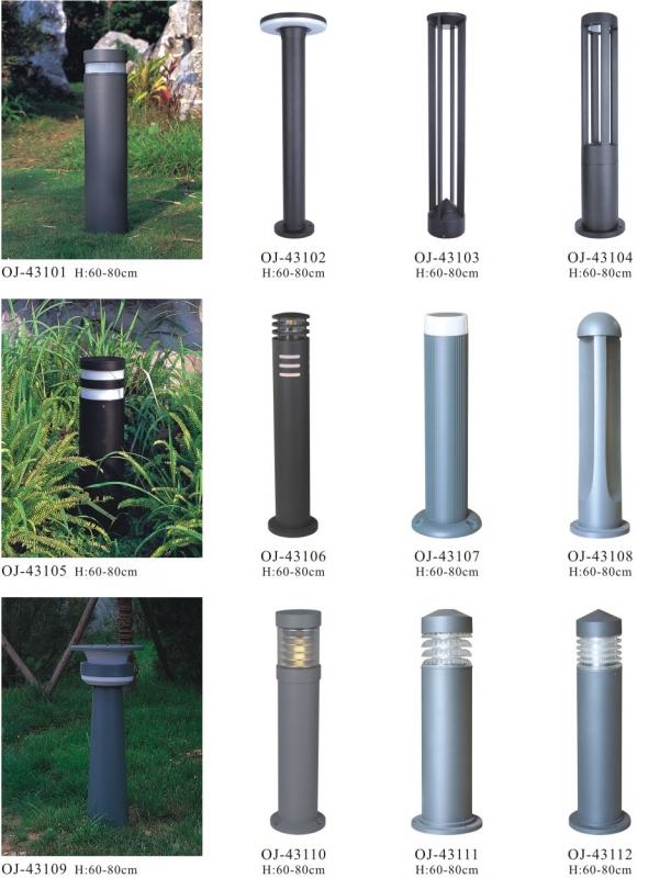 传统的景观灯厂家灯具太多使用塑胶或五金材质