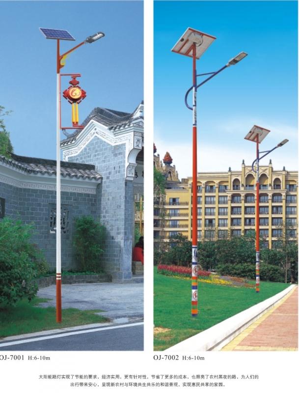 景观灯厂家分析乡村太阳能路灯能在雪天使用吗