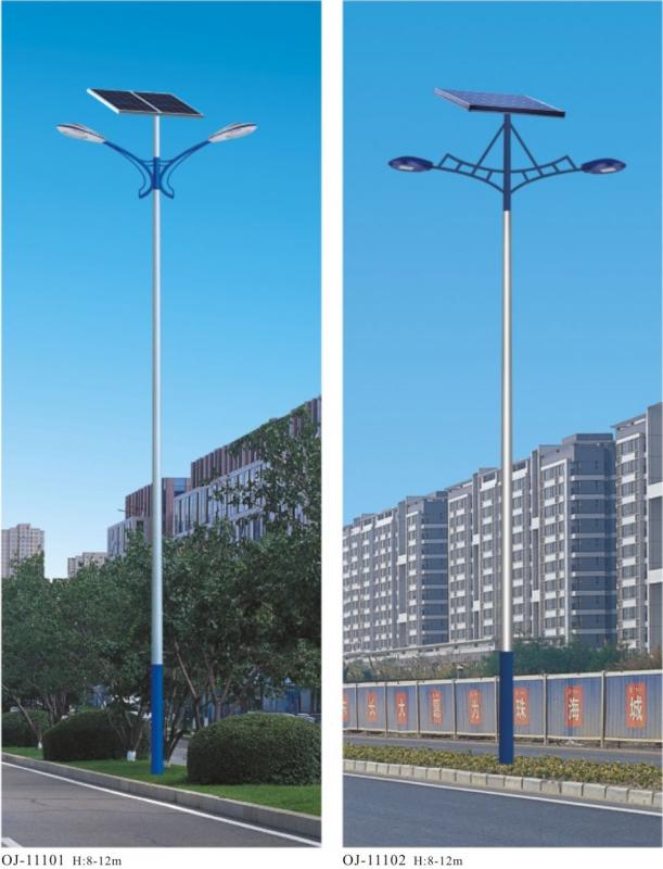 太阳能路灯的电压的变化