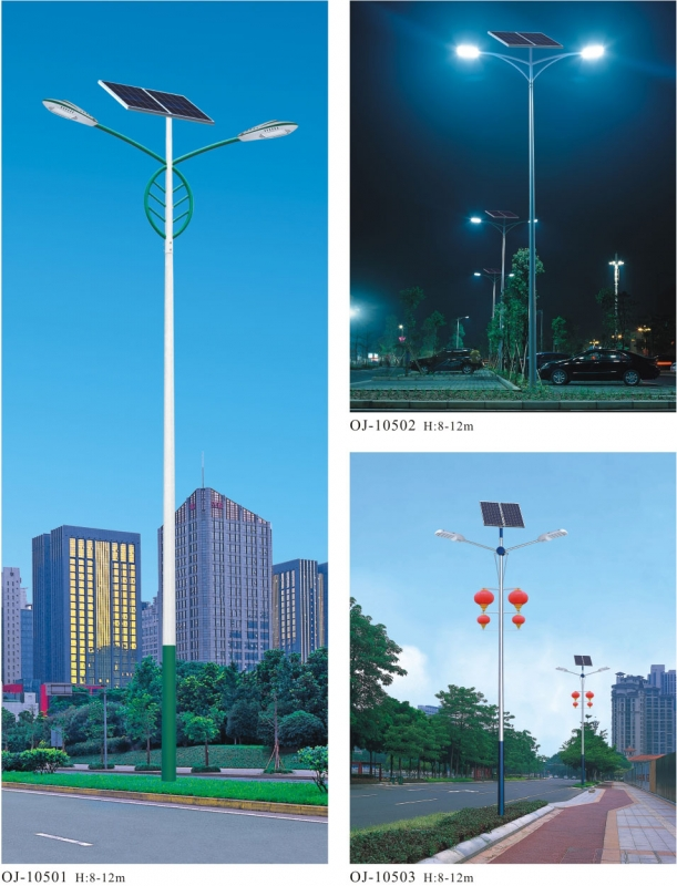 太阳路灯广泛被使用的原因