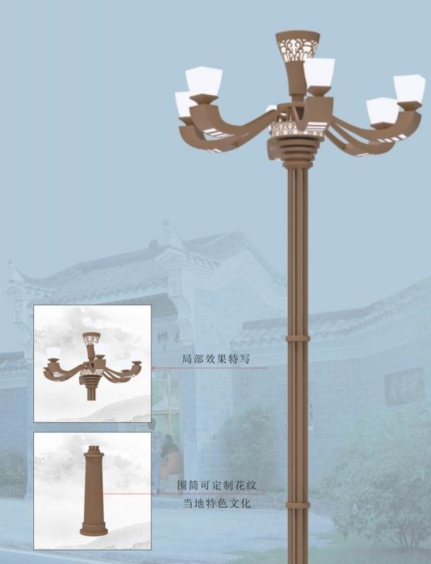 景观灯的设计方案和应用应遵循以下几个方面: